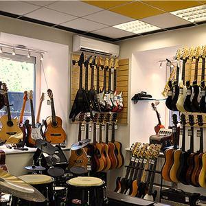 Музыкальные магазины Красных Четаев